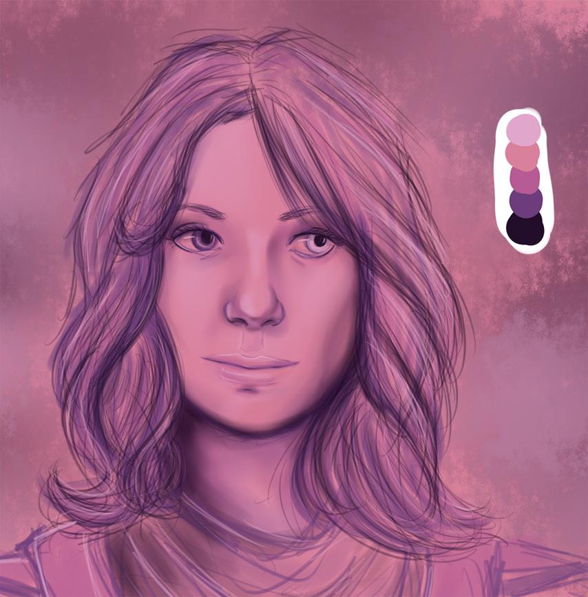 Lexi Trevelyan: Color Palette Challenge 10 by MistyKat