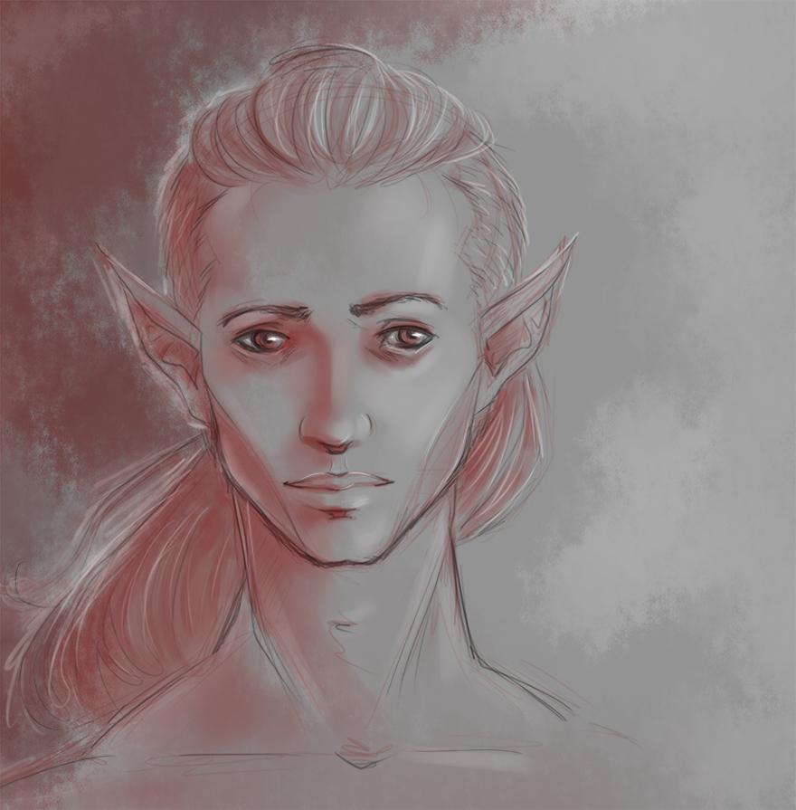 Younger Zevran? by MistyKat