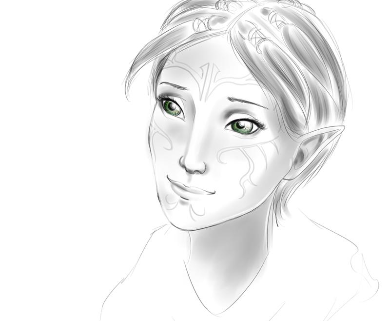 Merrill Sketchy by MistyKat