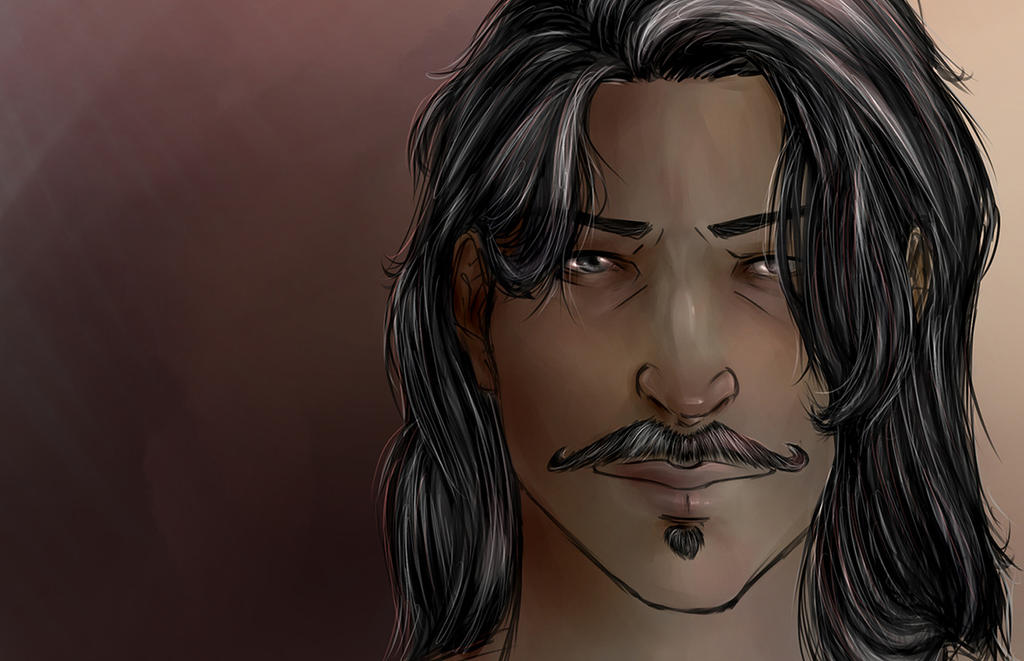 Older Dorian by MistyKat
