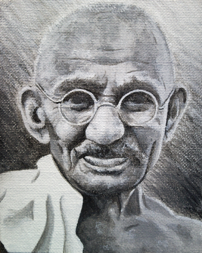Gandhi by TheMinx