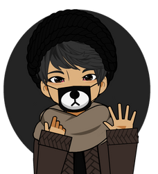 Anti-Dust Bear Mask Export by K-A-R-D
