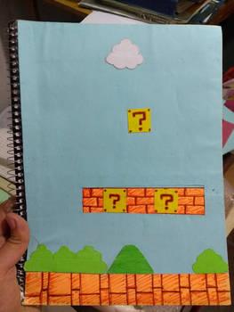 Mario Bros notebook