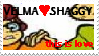This is Luv VELMAxSHAGGY stamp by PaperIz
