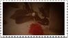 PotO-rose stamp by PaperIz