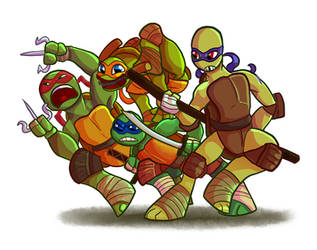 Turtle Power by birdmir