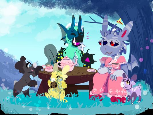 WYN - Tea Party Princess