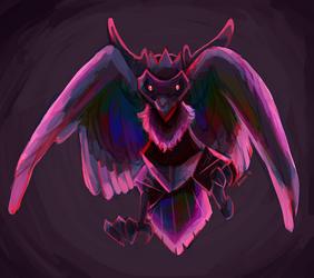 Corviknight by birdmir
