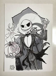 The Pumpkin King Commission by greyallison