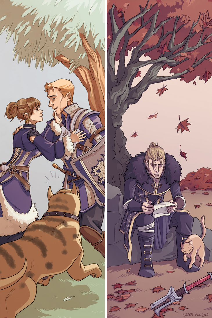 from Shawn dragon age origins alistair gay relationship