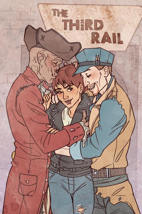 The Third Rail by greyallison