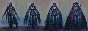 Diablo 3 Shadowdancer Level Evolution by Eristhe