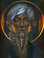 Emerald Knight by Eristhe