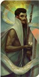 The Magician by Eristhe