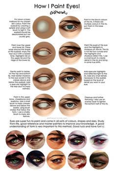 How I Paint Eyes