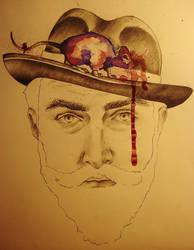 Mr. Rat in the Hat by Kallopsia