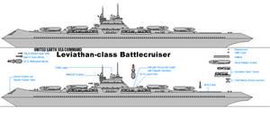 Leviathan Naval Battleship by fongsaunder