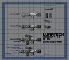 K-15 Battle Rifle by fongsaunder