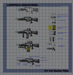 Lunatech KV-22 Battle Rifle