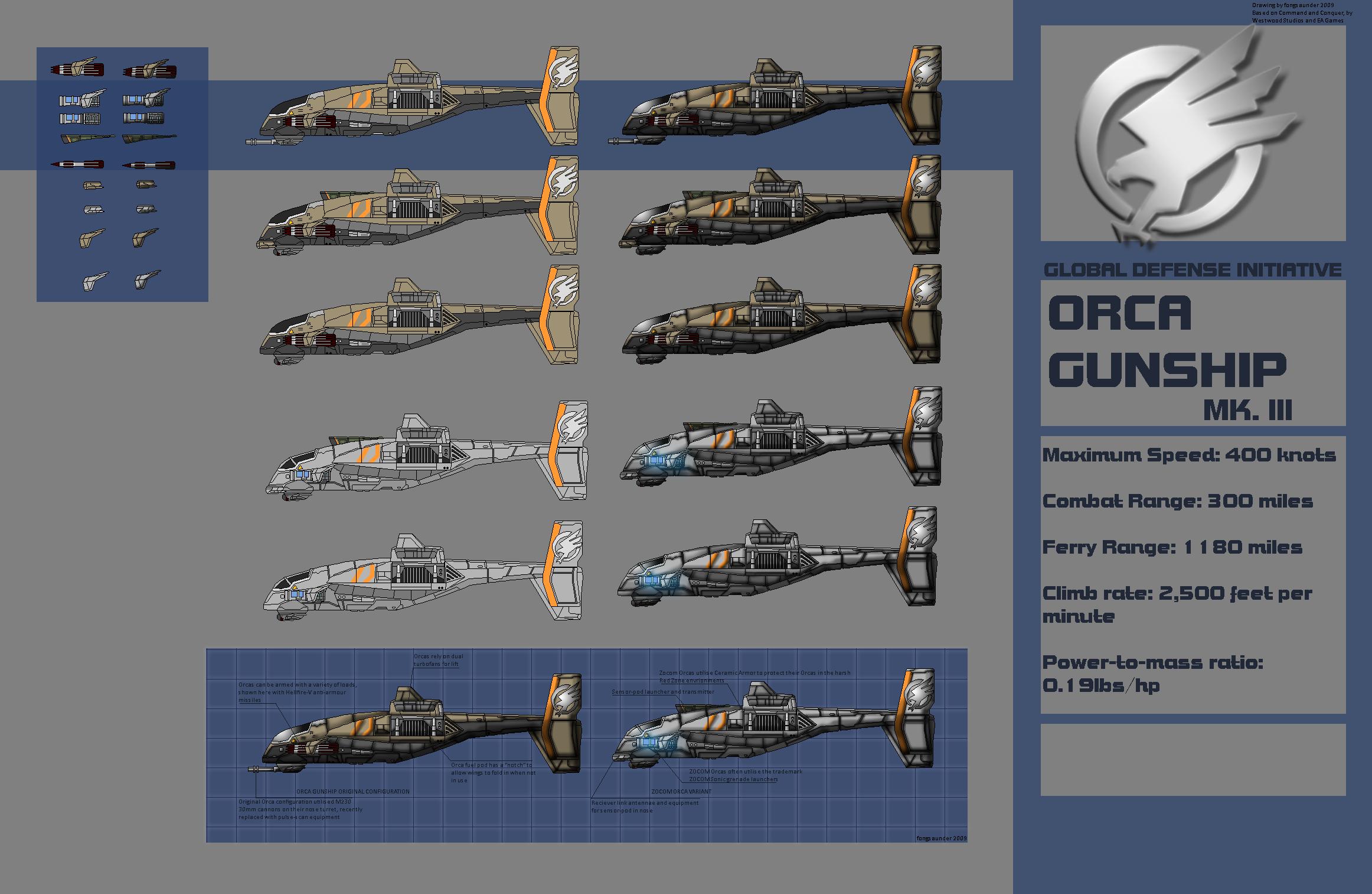 Orca Gunship Mk.III by fongsaunder
