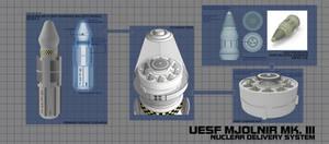 MJOLNIR Mk.III Block V Missile by fongsaunder