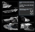 UNSC Falling Star WiP