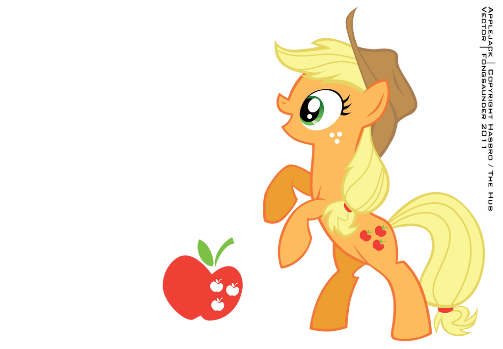 Applejack Vector by fongsaunder