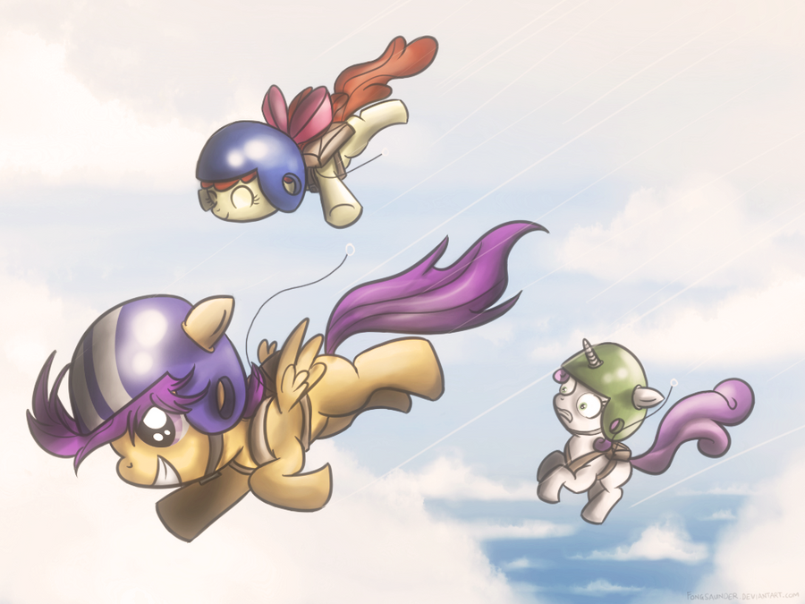 CMC Skydiving Team by fongsaunder