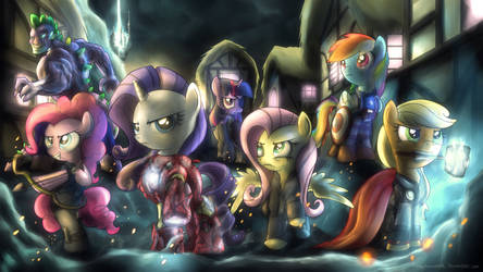 Equestria's Mightiest Heroes by fongsaunder