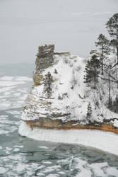 Miner's Castle-winter II by jchsoad