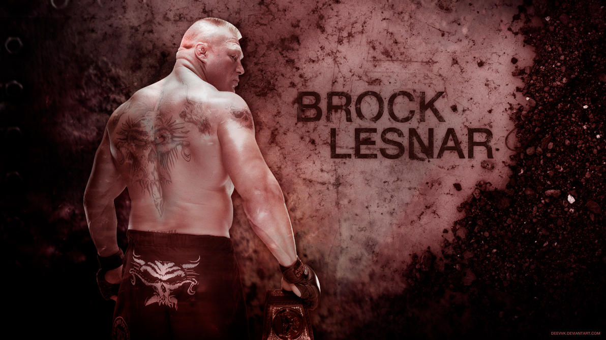 Brock Lesnar 2016 HD Wallpaper By DEEVVK
