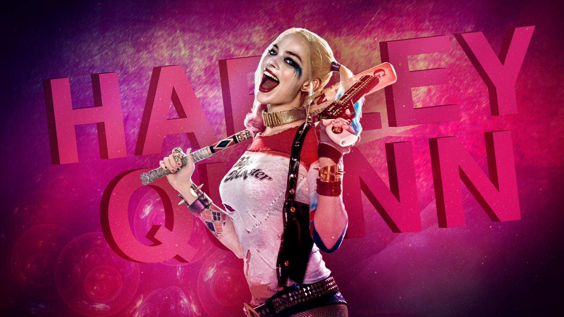 Harley Quinn Margot Robbie Hd Wallpaper By Deevvk On