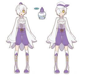 Pokemon Gijinka Litwick by Sorhken