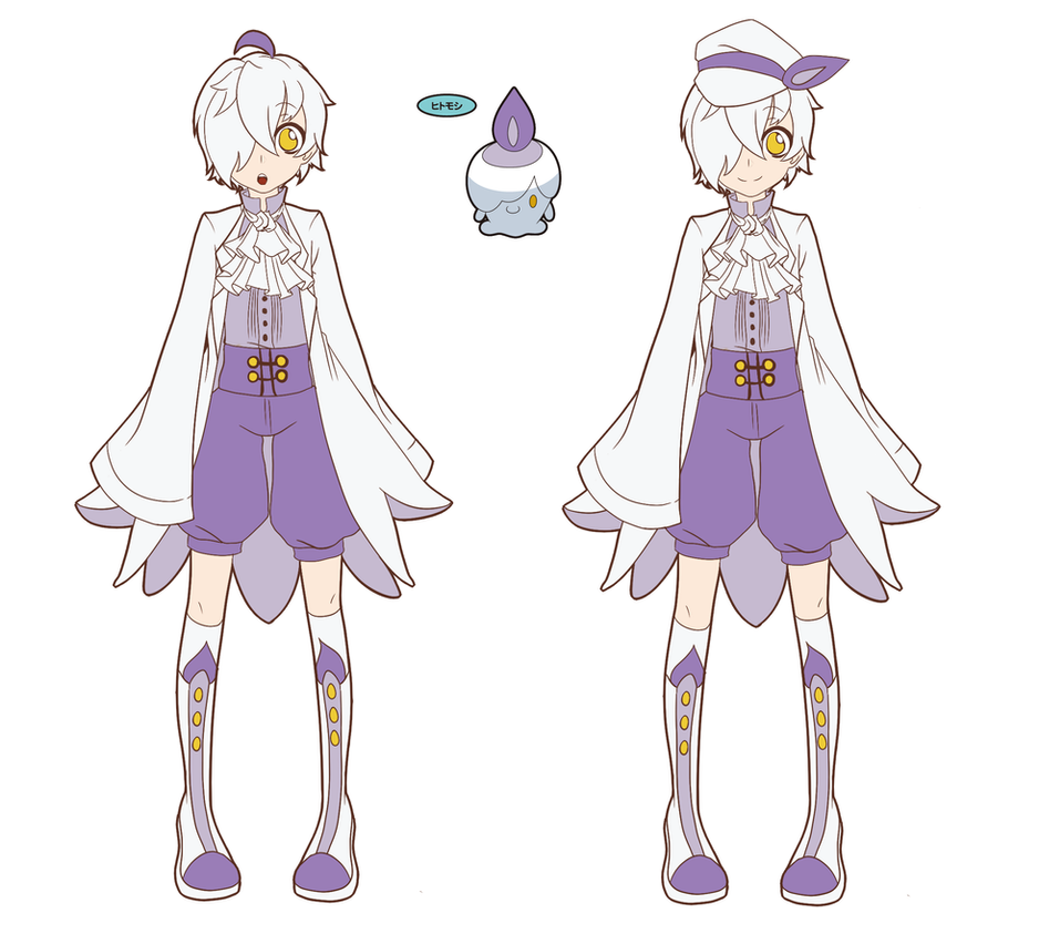 Pokemon Gijinka Litwick by Sorhken on DeviantArt for Litwick Gijinka  55nar