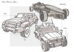 Vehicle Production Sketch