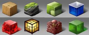 Material Cubes :D
