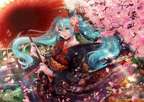 Kyoto Nippon Miku by apririnn