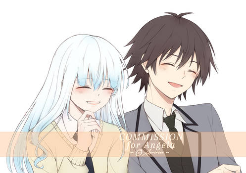 .:C:. Laughing together