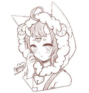 .:KoFi:. Cutie Pie sketch