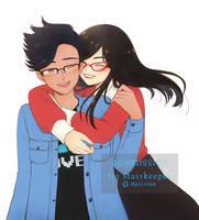 .:C:. Surprise hug!