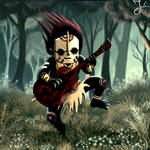 Tiki Musician by watchurbaq