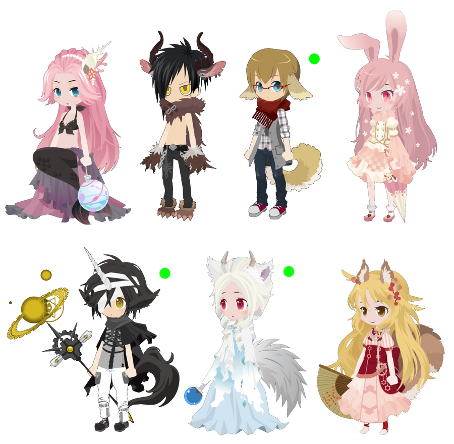 SELFY Draw To Adopt!: Fantasy Set -CLOSED:WINNERS- by AnimeFREAXXXXX