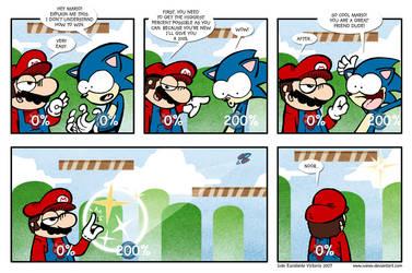 Smash Bross Brawl Strip by ivanev