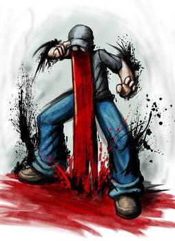 BloodFace a la Street Fighter4