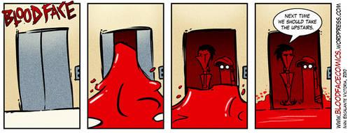 Bloodface Promo Strip