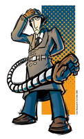Inspector Gadget by ivanev