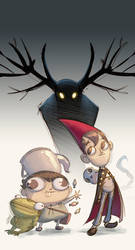 Over the garden wall by ivanev