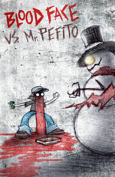 Blood Face vs Mr Pefito cover