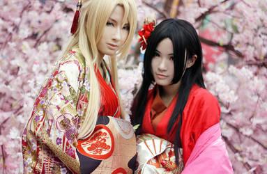 Kichou and Kagerou by Hunter-Mihael-Keehl