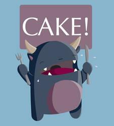 cake is nom by JendySmith